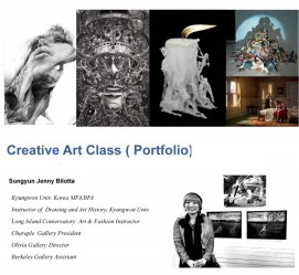 Creative-art-class ( Portfolio)